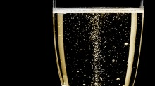 Not all fine fizz is champagne – prosecco, sparkling reds and blanc de blancs are also popular.