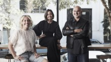 Nomad's Melbourne spin-off has been two years in the making. From left: Sydney chef Jacqui Challinor and owners Rebecca ...