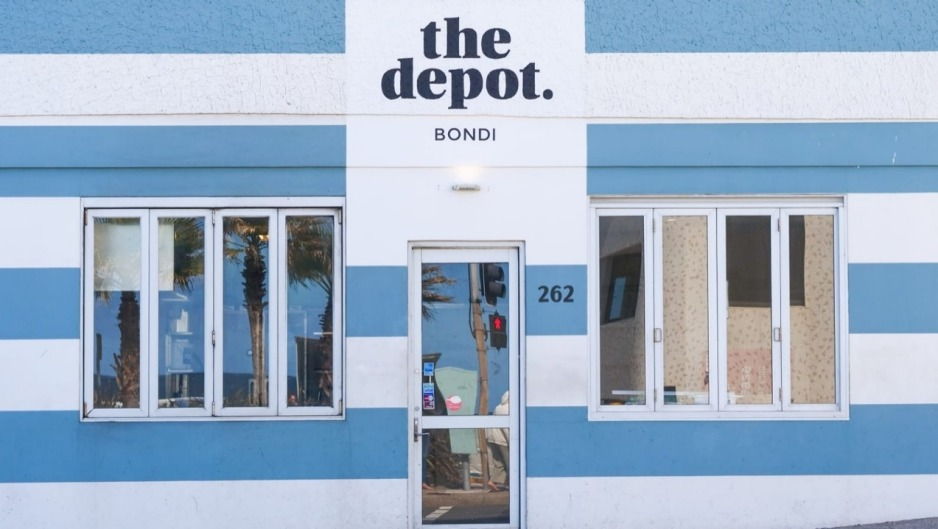 The Depot pop-up in Bondi.
