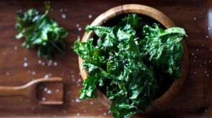 Kale chips are powerhouses of nutrients and vitamins.