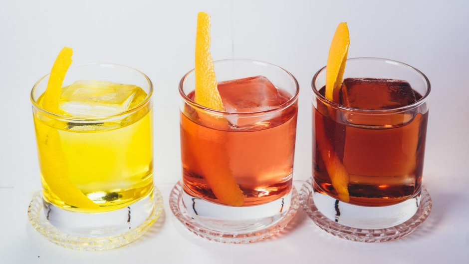Romeo Lane's trio of negroni cocktails for Negroni Week.