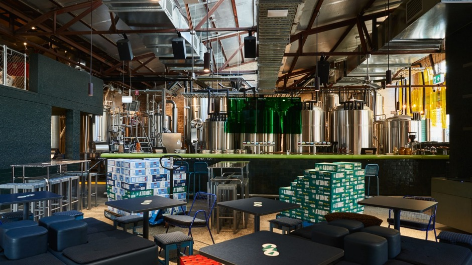 Yes, you can drink on the job at this Redfern start-up.