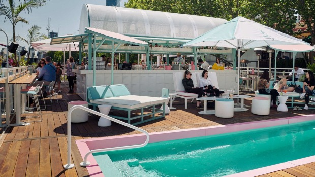 Arbory Afloat will step up the outdoor experience from last summer's Miami theme (pictured).