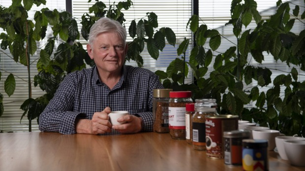John Russell Storey tastes tests instant coffee.