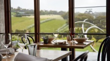 Wilkinson's lunch menus will make use of produce from the winery's kitchen garden.
