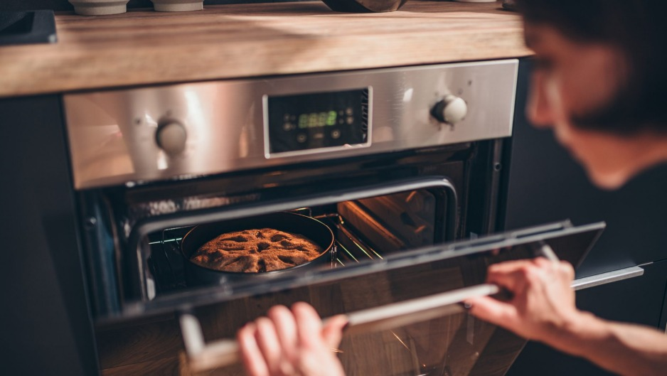 Resist the urge to keep checking the oven.