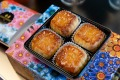 Golden Century's mooncake four-pack is still avaialable in limited quantities.