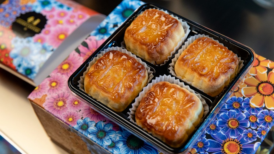 Golden Century's mooncake four-pack is still available in limited quantities.