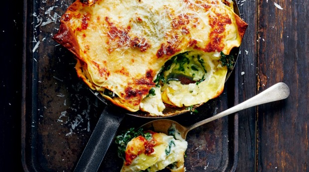 Recipes and styling: Donna Hay Lemon, olive and butter bean chicken Kale gnocchi with balsamic tomatoes Free-form lasagne   This is an edited extract from Everyday Fresh by Donna Hay, RRP$45.00. Photography: Con Poulos.  Single use permissions Supplied by publisher