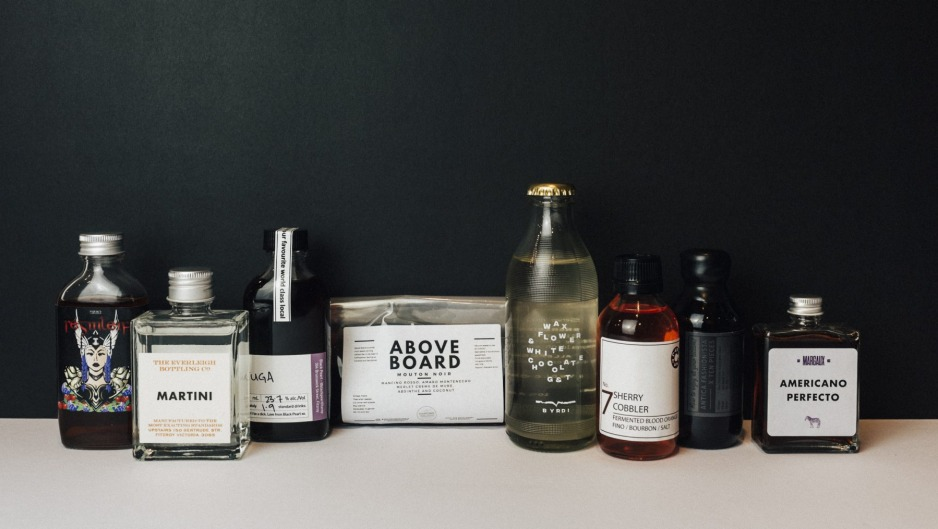 The Everleigh Bottling Co has released a new 'mixtape' of cocktails from Melbourne's bars.