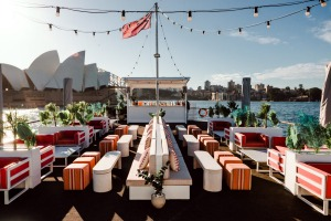 Be ferried around Sydney Harbour on Glass Island with a faceful of fresh air, an exhilarating selection of cocktails, ...