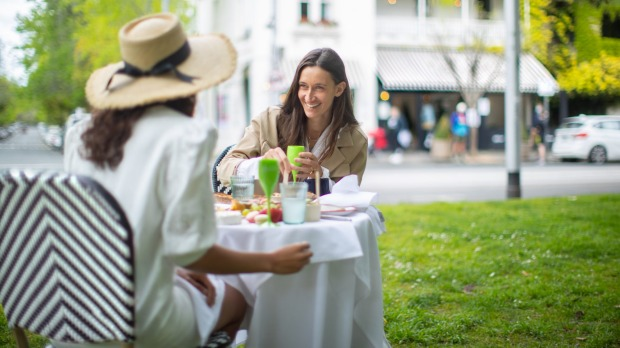 """The only problem customers have reported is other park-goers constantly asking them where their bistro chairs are ..."
