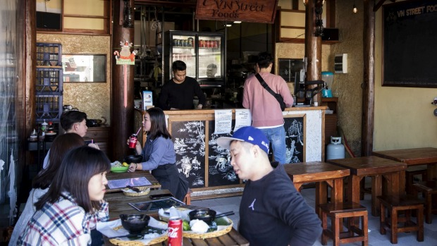 Vn Street Foods in Marrickville on September 4, 2019. Photo: Dominic Lorrimer