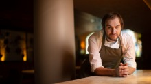 Chef Steve Nairn of Omnia preparing to open his restaurant but feeling uncertain.