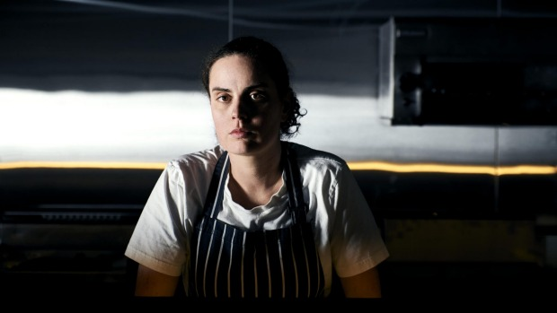 Anna Quayle, chef and co-owner of Bar Romanee in Yarraville.