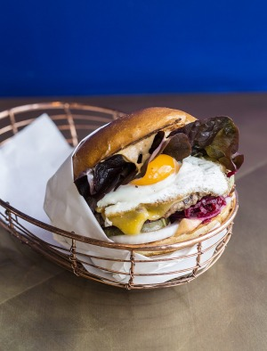 This 'artisan' burger is up to foodie standards.