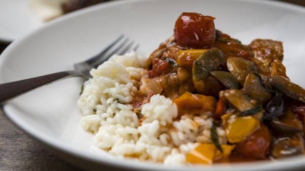 Chicken cacciatore, the way you wish you could cook it.