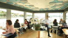 Perched on the edge of harbour, Regatta commands one of the two great restaurant sites at Rose Bay.