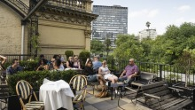 Siglo rooftop bar above the Supper Club is opening at midnight on October 28, one minute after restrictions lift.