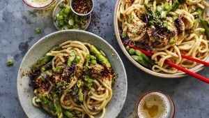 A much-loved Roman pasta dish gets a modern Asian makeover.