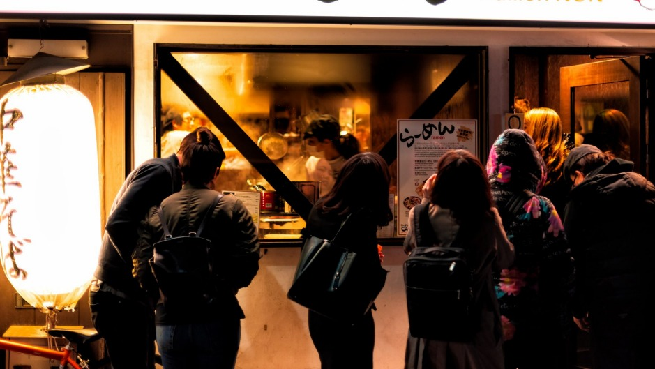 If there's a long line outside, you don't need to rush, but be mindful of people who are queuing for a table.