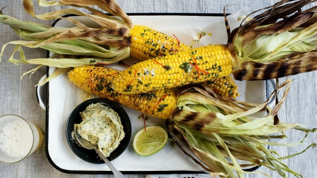 SYDNEY, AUSTRALIA - APRIL 21: Grilled corn with chimichuri butter on April 21, 2016 in Sydney, Australia.  (Photo by Christopher Pearce/Spectrum)    _DSC2835.jpg
