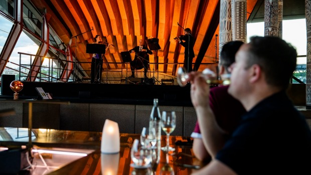 Entertainment and food go hand-in-hand, says Bennelong owner John Fink said.