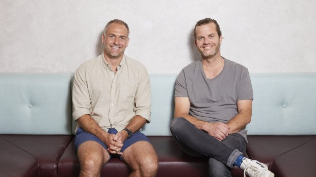 Forrester's co-founders Ben Carroll (left) and Hamish Watts.