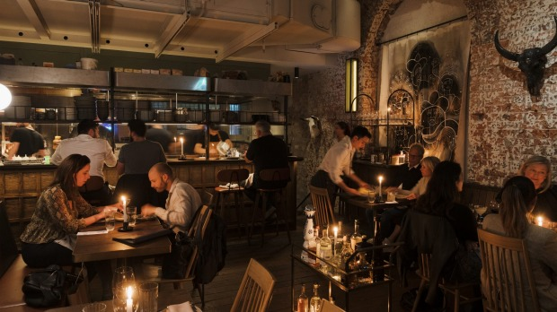 The old two-level Grasshopper bar space has been transformed into two sultry, hide-away venues.