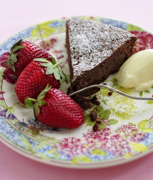 Stephanie Alexander's favourite chocolate cake.