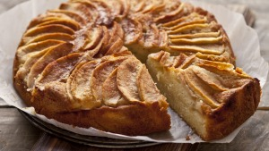 Frank Camorra's Danish apple cake.