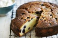 Neil Perry's blueberry and lemon cake.