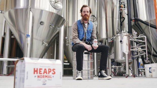 Andy Miller, Ben Holdstock and Peter Brennan are the founders of Heaps Normal.