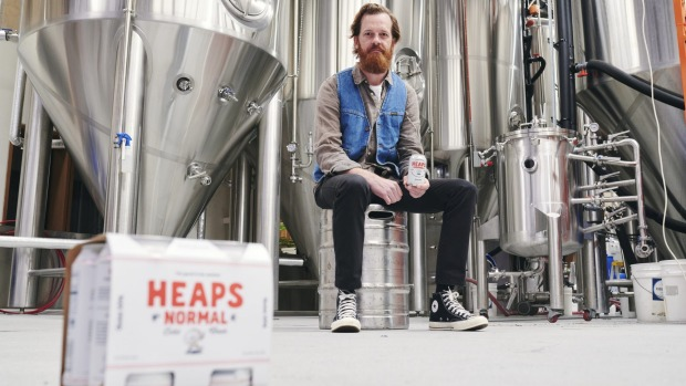 Co-founder of Heaps Normal, Andy Miller, says he wanted to make alcohol-free beer mates felt proud taking to gigs and ...