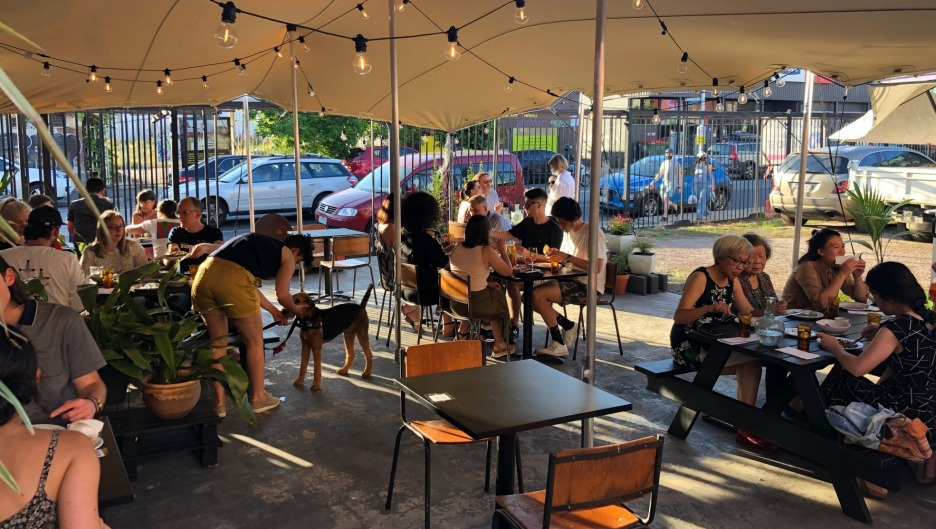 Rumi in Brunswick East has new outdoor dining zones and a mezze menu by Tom Sarafian.