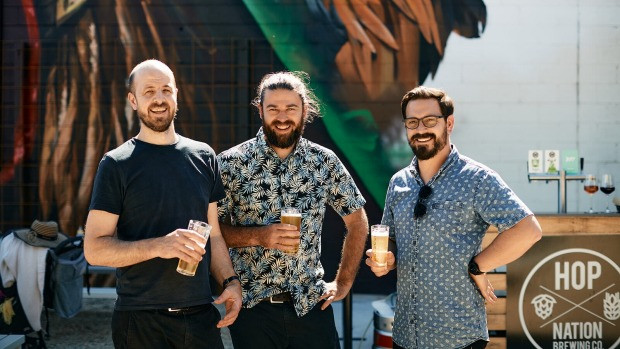Julian Hills is linking up with Hop Nation owners Sam Hambour and Duncan Gibson to open Zymurgy.