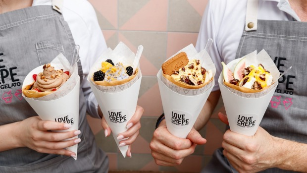 Top chef turns his hand to Greek crepes at Love Crepe in Drummoyne