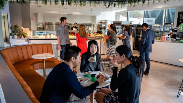 Banksia Bakehouse focuses on a city crowd, with lots of grab-and-go options.