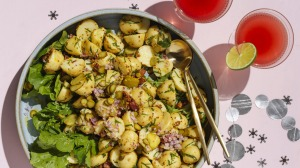 Potato and pickle salad.