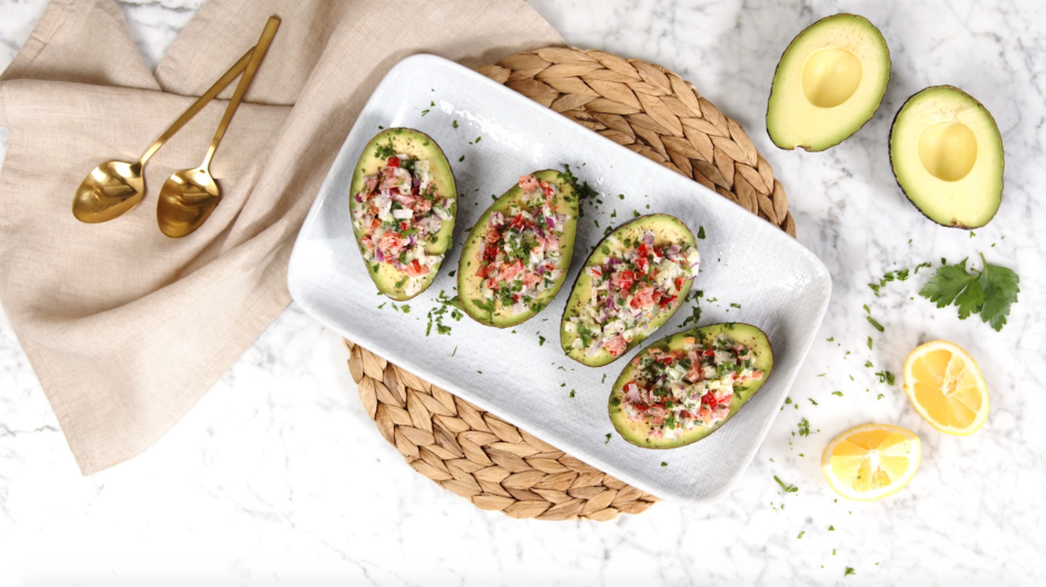 Stuffed avocados the whole family will love.