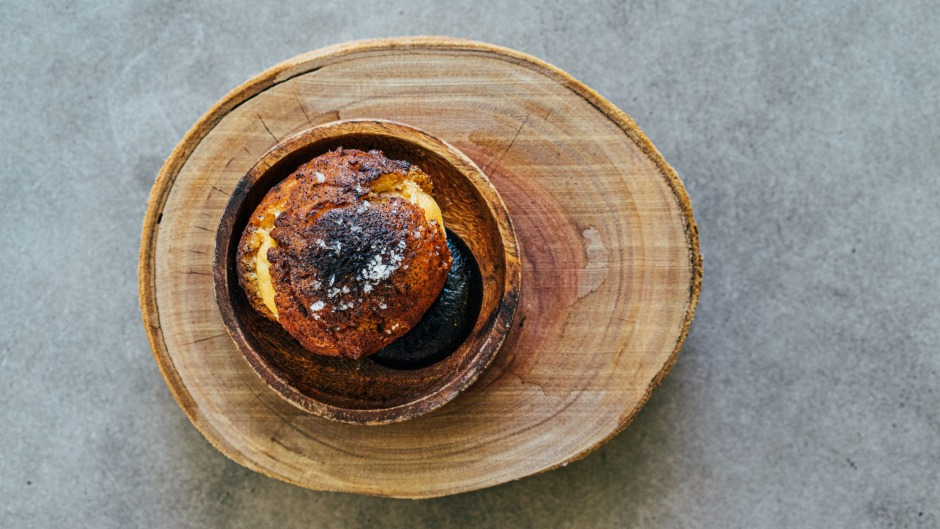 Expect braised wallaby tail doughnut with black garlic on the menu at Bangalay.