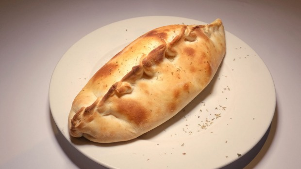 Calzone pizza, but not as you know it.