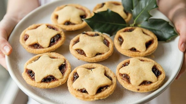 Phillippa's fruit mince tarts, available at select food stores in Melbourne and Sydney.