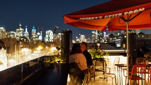 Johnny's Green Room, on the rooftop of King and Godfree in Carlton.
