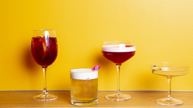 Most of the cocktails at Mr Brownie,South Melbourne, are classics-with-a-twist.