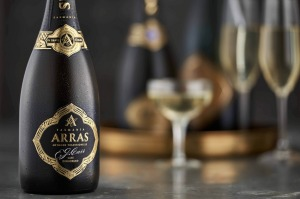 The award-winning House of Arras E.J. Carr Late Disgorged 2004 sparkling.