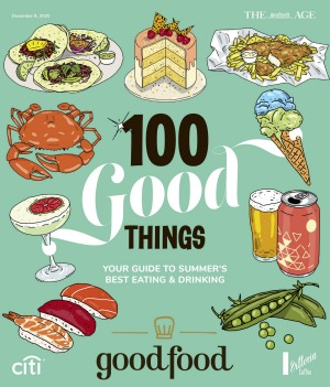 Good Food magazine cover 100 Good Things - Your guide to summer's best eating & drinking.
