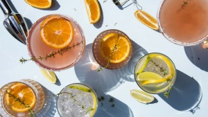 Chill out this summer with some fun and fruity drinks.