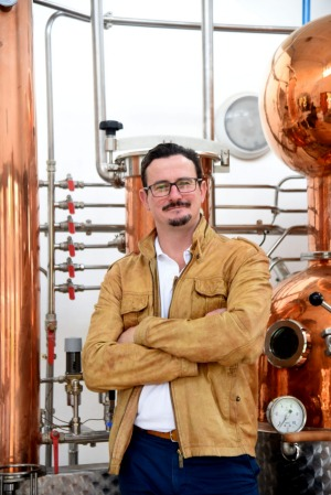 Australian-born founder of Kenya's Procera gin distillery, Guy Brennan.