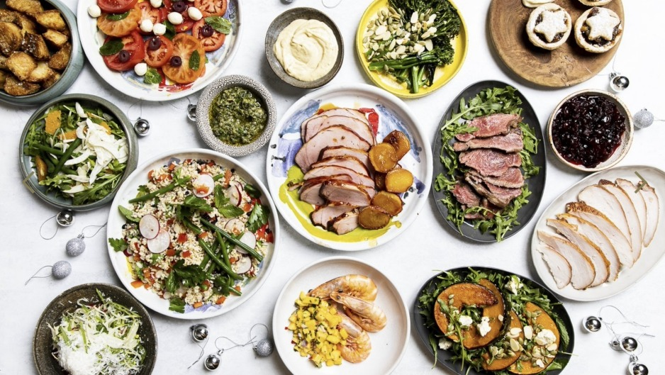 The Atlas Masterclass Christmas box includes smoked turkey, loads of side dishes, plus the option of a half or whole ...